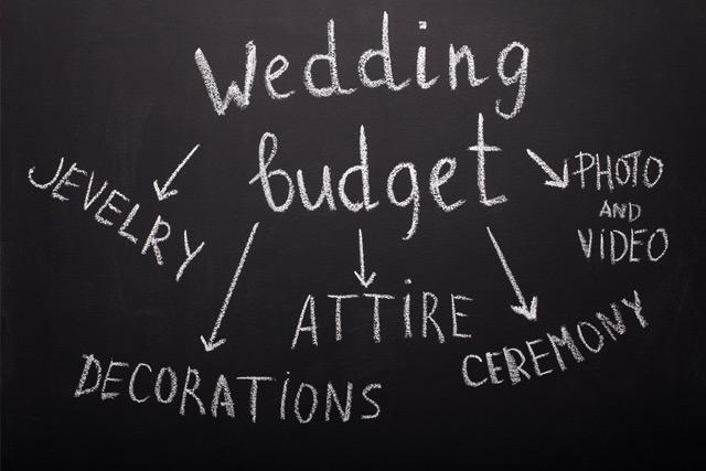 結婚禮金-開支預算