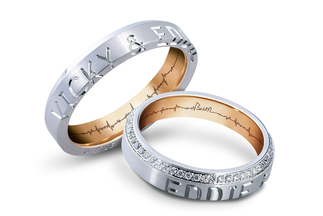 【網上婚展優惠】Forever Couple專屬訂製刻字婚戒 全線戒指75折再減HK$1000