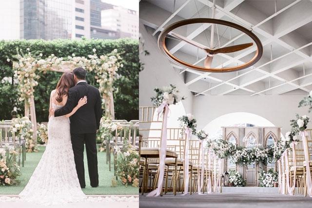 酒店婚宴場地2021 | 港九新界酒店小型婚禮收費 | 戶外草地浪漫婚宴證婚 | 最低消費低至$35000