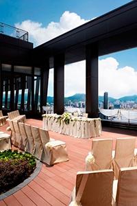 【網上婚展優惠】港島海逸君綽酒店︰免費升級尊貴海景客房  證婚套餐$19,888起