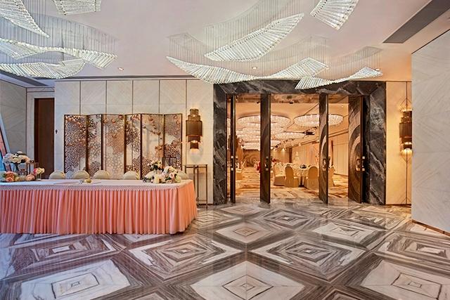 【網上婚展優惠】紅磡九龍海灣酒店中式晚宴每席只需HK$8,688起,每10席額外送1席!