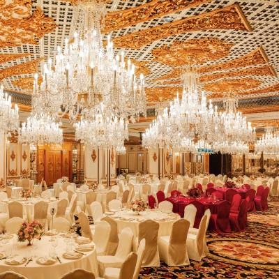 【網上婚展優惠】實現宮廷式世紀婚禮!預訂歷山酒店婚宴可享最高92折 + 額外1晚酒店住宿