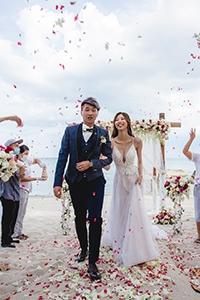 【泰國海外結婚勝地】疫情無阻海外婚禮!來場浪漫的隱世小島沙灘證婚派對!