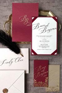 將Calligraphy西洋書法融入婚禮細節 本地網店喜帖、婚禮佈置、回禮小禮物、利是設計靈感 香港人氣西洋書法家推介