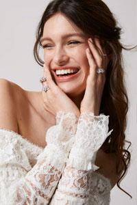 求婚戒指推介丨鑽石戒指疊戴出個人風格丨來自倫敦的新娘首飾、婚嫁鑽戒系列