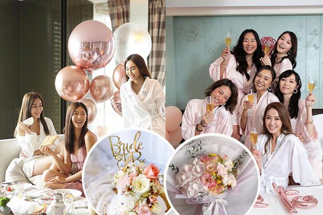 Bridal shower攻略丨精選酒店Staycation推介 ! 婚前單身派對必睇清單