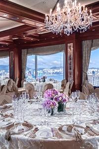 【2021/2022婚宴優惠】法式浪漫「輕婚禮」場地    星級優惠每席HK$16,388起
