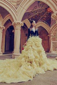 婚紗晚裝|齊集12位迪士尼公主及2位女王|女生夢寐以求!28件迪士尼婚紗晚裝訂製系列