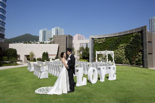 藍天為證 5個戶外婚禮主題