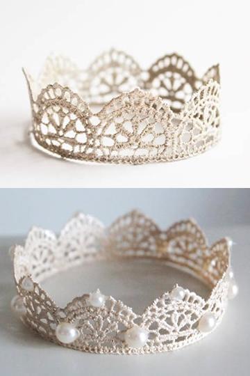 新娘頭飾 D.I.Y - 喱士皇冠