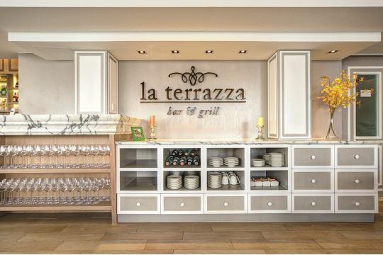 室內室外抱擁意式浪漫婚禮la Terrazza Bar Grill餐廳 餐廳