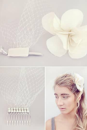 DIY網紗頭飾 婚攝必備法寶