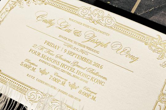 【英文喜帖】婚禮請帖英文格式注意事項!超實用結婚請帖內文格式範本、署名寫法、語調