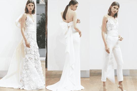 蝴蝶結控會愛上的2018婚紗系列