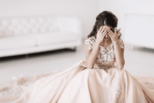 新娘需要你體諒的8件事
