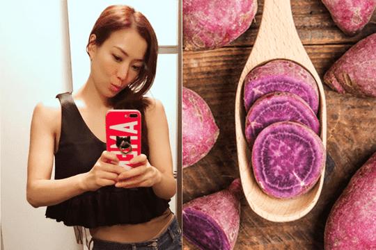 跟Sammi學修身!紫薯減肥美顏法