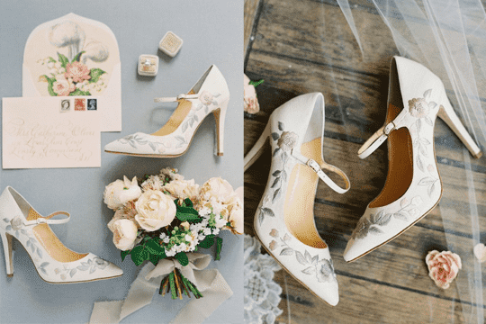 10對優雅婚鞋 只需$370起!