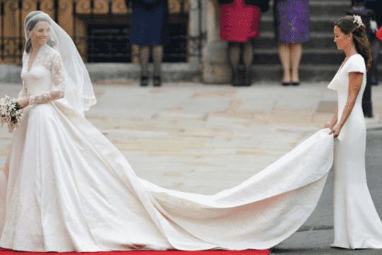 名人女星熱捧!穿長袖婚紗出嫁