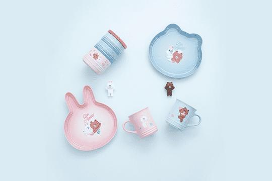 女友冧爆!LC x LINE情人節陶瓷餐具