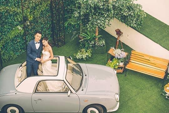 超浪漫白色婚禮!華麗城堡午宴