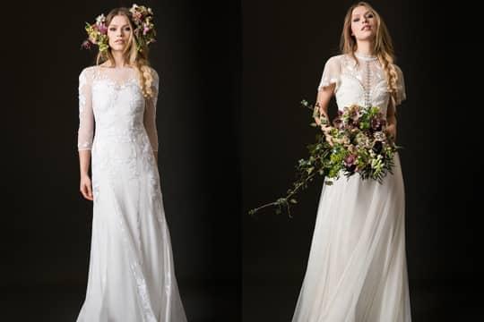 簡單就是美 做個波希米亞風新娘