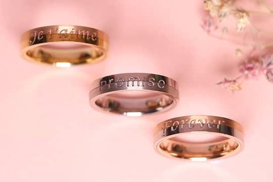 個性化結婚戒指  暗藏屬於你倆的獨特訊息