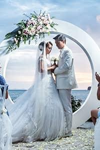 海外婚禮「泰」精彩:蘇梅水天一色氣派之選