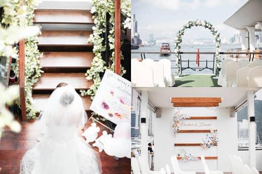【遊艇婚禮】在大海中心說我愛你!(附海上證婚、求婚、婚照資訊)