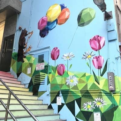 【文青系新人注意】港島西型格街頭壁畫pre-wedding熱點