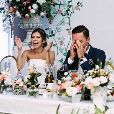 「下次再見!」 30個婚禮司儀講錯說話的尷尬時刻