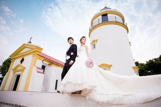【自拍婚照無難度】毋須機票!小資新人拍出歐洲風婚紗相