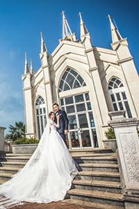 一天內完成!穿梭歐陸小鎮、韓式影樓婚攝之旅