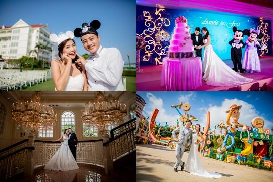 迪士尼童話婚禮2019年package全面睇 (中西式婚宴、戶外證婚、婚攝套餐)