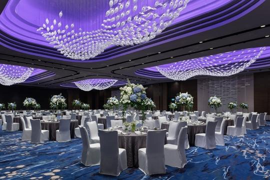 【小編睇場】香港海洋公園萬豪酒店  港島最大宴會廳可擺80席