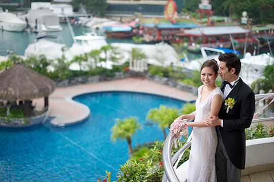 遊艇會締造戶外醉人婚禮