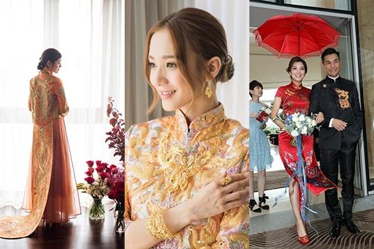 【新娘揀衫攻略】女星示範最強出門look:裙褂、潮褂定旗袍?