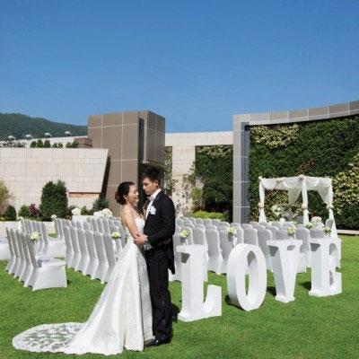 酒店婚宴場地2020 | 港九新界酒店小型婚禮收費 | 戶外草地浪漫婚宴證婚 | 最低消費低至$35000