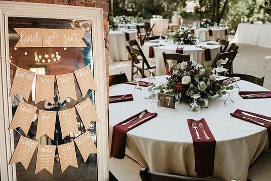 【婚宴座位編排天書】5個小貼士助你輕鬆完成婚宴名單及座位編排