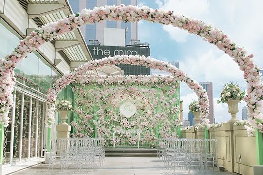 新人至愛西式婚宴場地 鬧市中辦一場法式婚禮