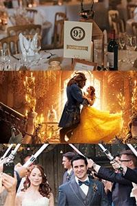 【4個電影主題婚禮靈感】 將婚禮場地變拍攝片場