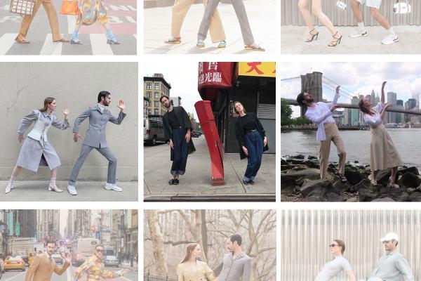 【另類婚紗照】法國網紅情侶裝穿搭示範!搞笑拍照姿勢紅遍各大時裝周