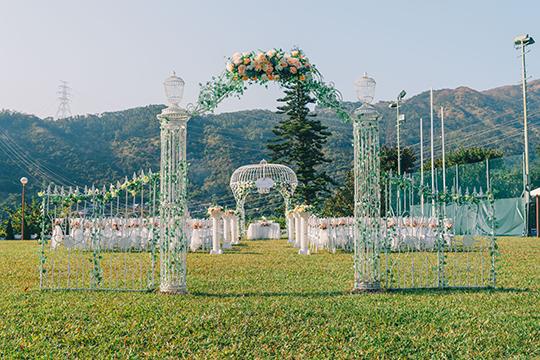 【草地婚禮推介】半價租用16,000呎戶外草地婚禮場地