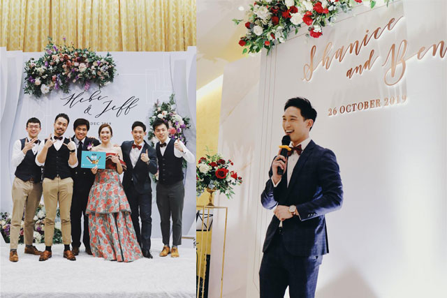 選擇婚禮司儀要注意甚麼?Kenji:除了一份使命感,更重要是…