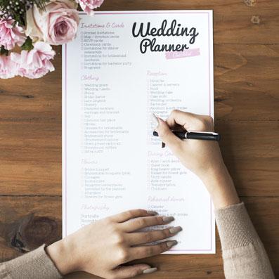【籌備婚禮要多久】一年完整版結婚to do list - rundown | 預算 | 時間 | 流程