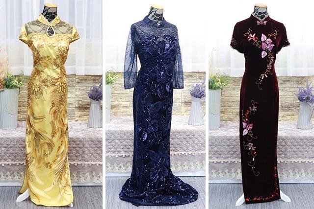 【媽媽衫奶奶衫晚裝】新娘子推薦4間禮服店!5個試身裝身貼士