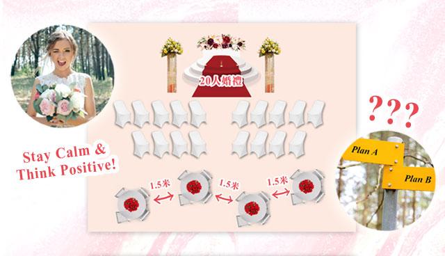 新冠肺炎下的婚禮籌備!11項你倆可以在家準備的清單
