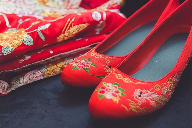 【新娘出門裙褂】留意7大揀選褂鞋技巧
