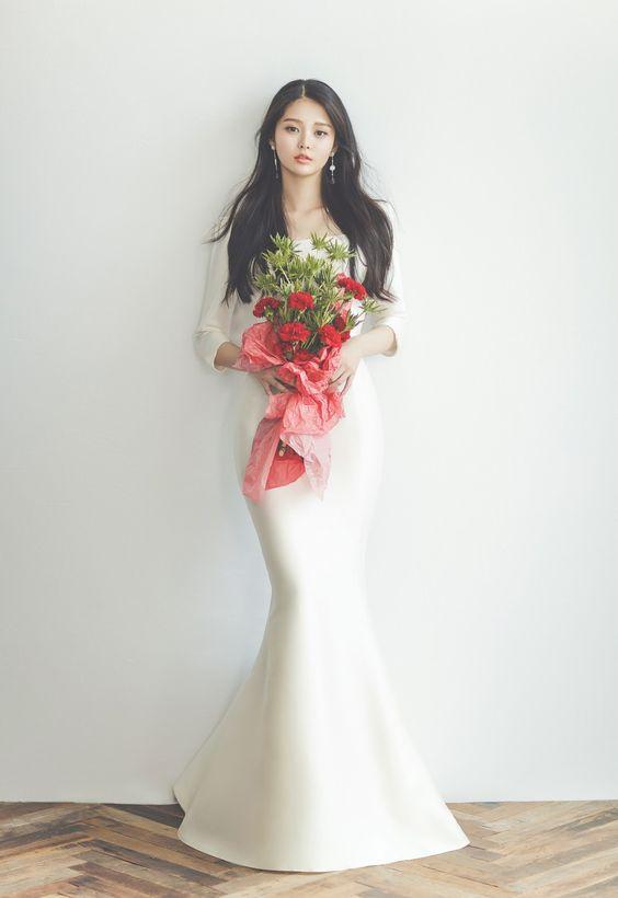 【2021新娘髮型】新娘化妝師熱推9款韓式清新簡約造型!長短髮型合集、配搭頭飾貼士