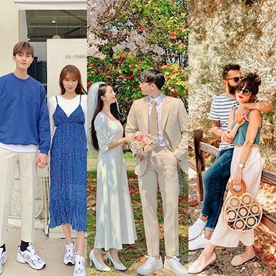 【便服婚照穿搭2020】7對網紅情侶裝穿著示範!Pre-wedding外影衣著靈感參考