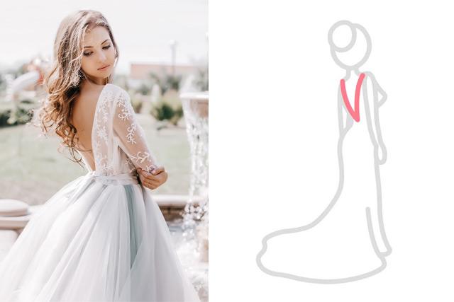 【婚紗晚裝款式】粗手臂就不能穿長袖款?8個手袖、腰位、背部剪裁「如何配襯身形」建議